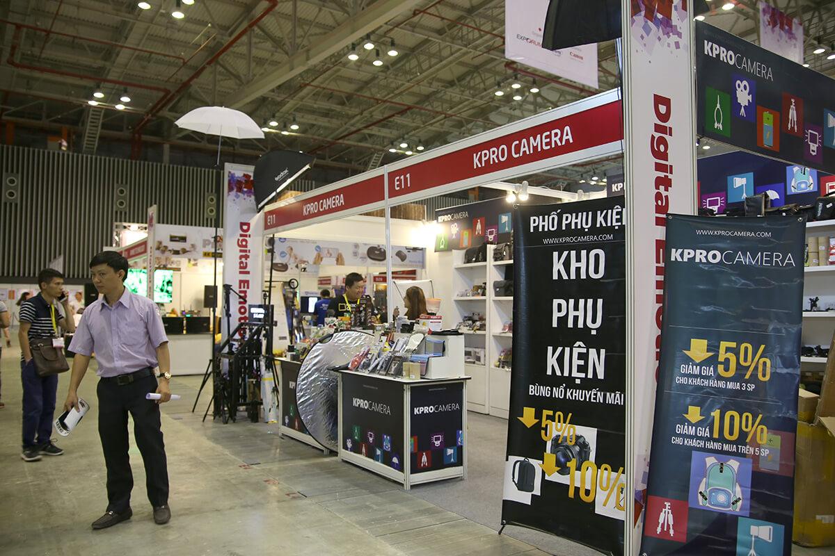 Nhiều đơn vị tham gia hội chợ triển lãm công nghệ