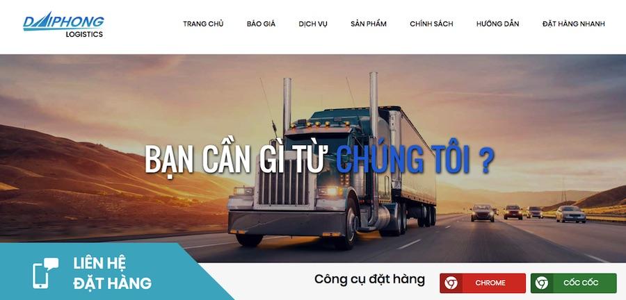 Nhập hàng Trung Quốc với Đại Phong logistics