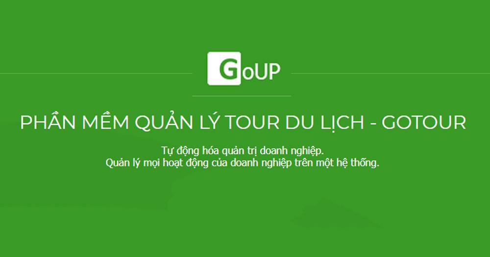 Phần mềm quản lý tour du lịch- GoTour