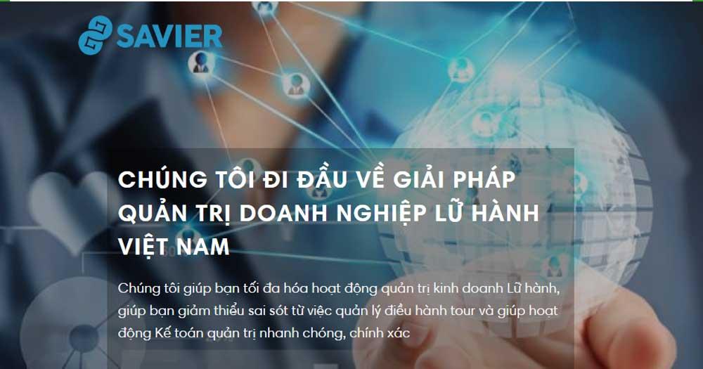 Giải pháp quản trị doanh nghiệp lữ hành Việt Nam- Savier