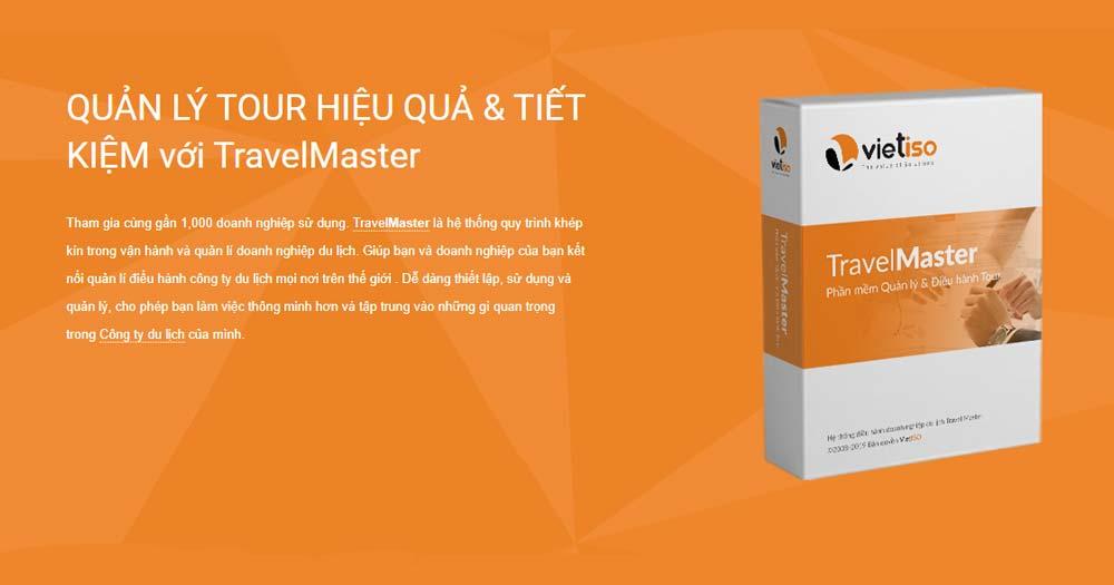 Phần mềm du lịch với đầy đủ công cụ hỗ trợ Travel Master