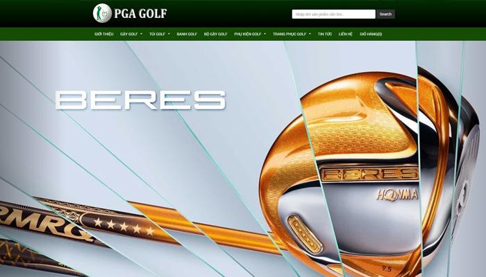 Đơn vị chuyên cung cấp gậy golf chính hãng - PGA Golf